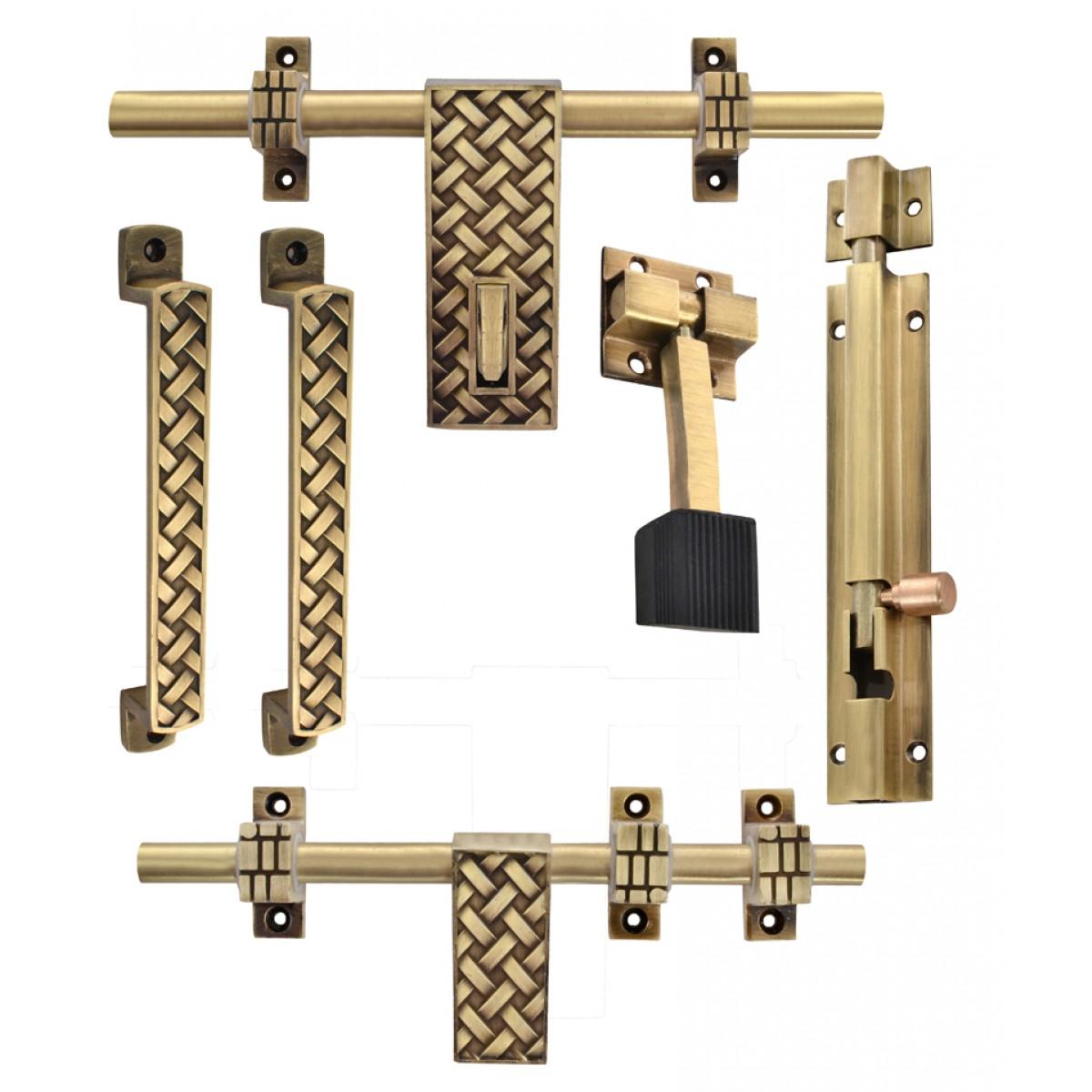 Klaxon Glorious 2 Brass Door Accessories Kit (Antique Finish 6-Pieces)  sc 1 st  Klaxon Hardware & Klaxon Glorious 2 Brass Door Accessories Kit (Antique Finish 6 ...