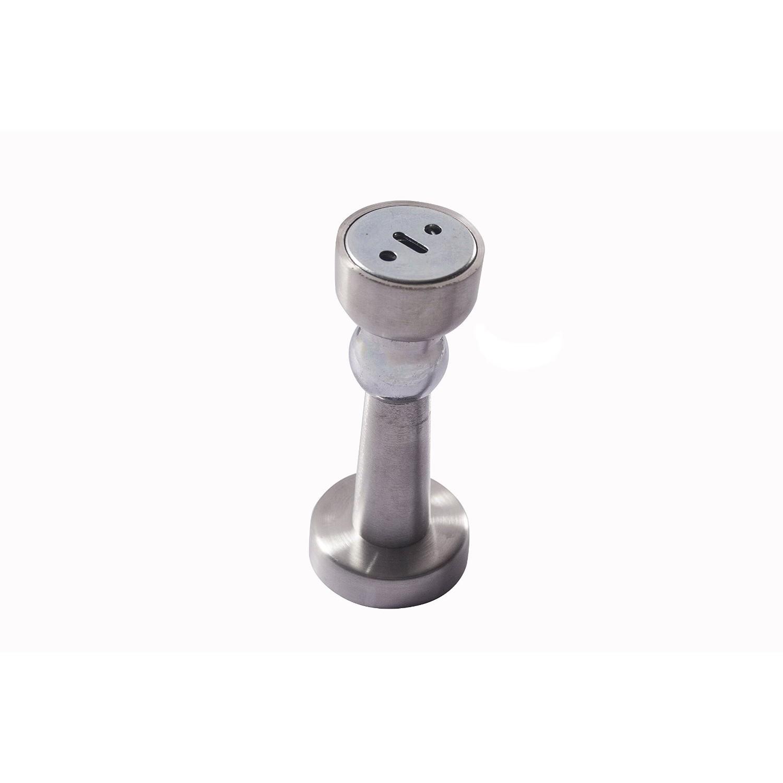 Klaxon Stainless Steel Magnetic Door Stopper Silver