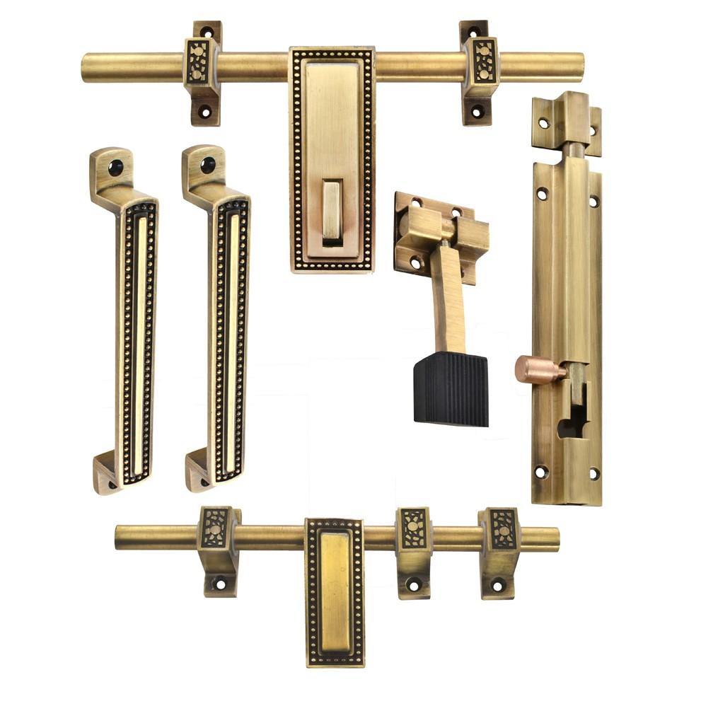 Display Gallery Item 1 ...  sc 1 st  Klaxon & Klaxon Glorious 1 Brass Door Accessories Kit (Antique Finish 6 ...
